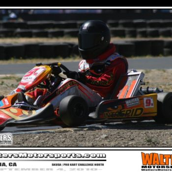 Shane Walters Infineon Kart Track