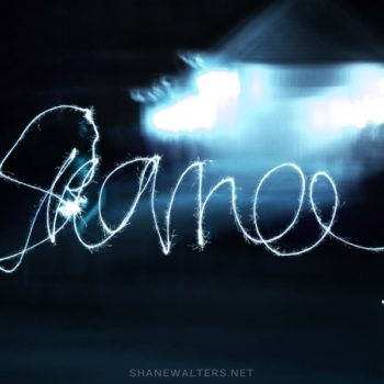 Writing My Name With Fireworks ( Shane Walters Photography ) 2293