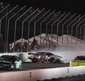 Carl Edwards Wrecks Brad Keselowski (NASCAR Nationwide Series)