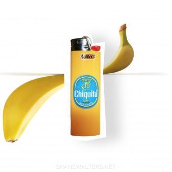 Shane Walters Art Photography - Banana Lighter (0521)