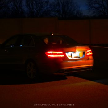 Shane Walters Images - Mercedes E350 (0551)