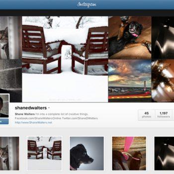 Shane Walters Instagram (ShaneDWalters)