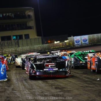 Knoxville Late Model Nationals 4 Wide Salute Photos ( Shane Walters Photography )