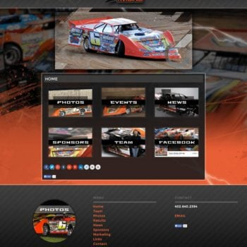 Travis Dickes Lucas Oil MLRA Driver-Website-Design - Walters Web Design