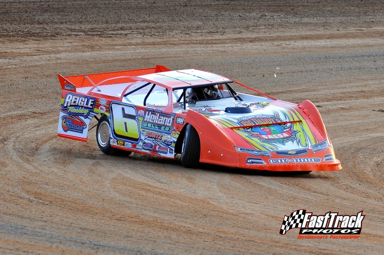 Travis Dickes Racing Dirt Late Model Lucas Oil MLRA Driver Website Design