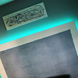 Bed In Floor Contemporary Bedroom Project Photos 9954 Teal LED Lighting