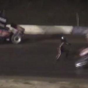 Tony Stewart Sprint Car Crash Kills Driver Kevin Ward Jr ( Crash Photo )