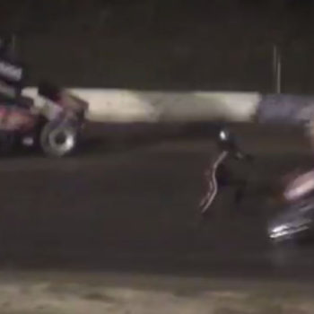 Tony Stewart Sprint Car Crash Kills Driver Kevin Ward Jr ( Crash Photo )