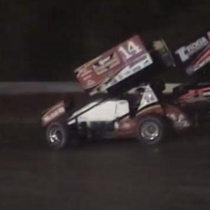 Tony Stewart Sprint Car Crash Kills Driver Kevin Ward Jr ( Crash Photos )