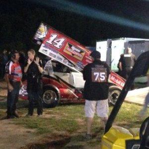 Tony Stewart Sprint Car Crash Kills Driver Kevin Ward Jr ( Tony Stewart Pit )