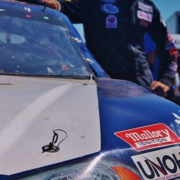 Josh White ARCA Racing Driver Website Design