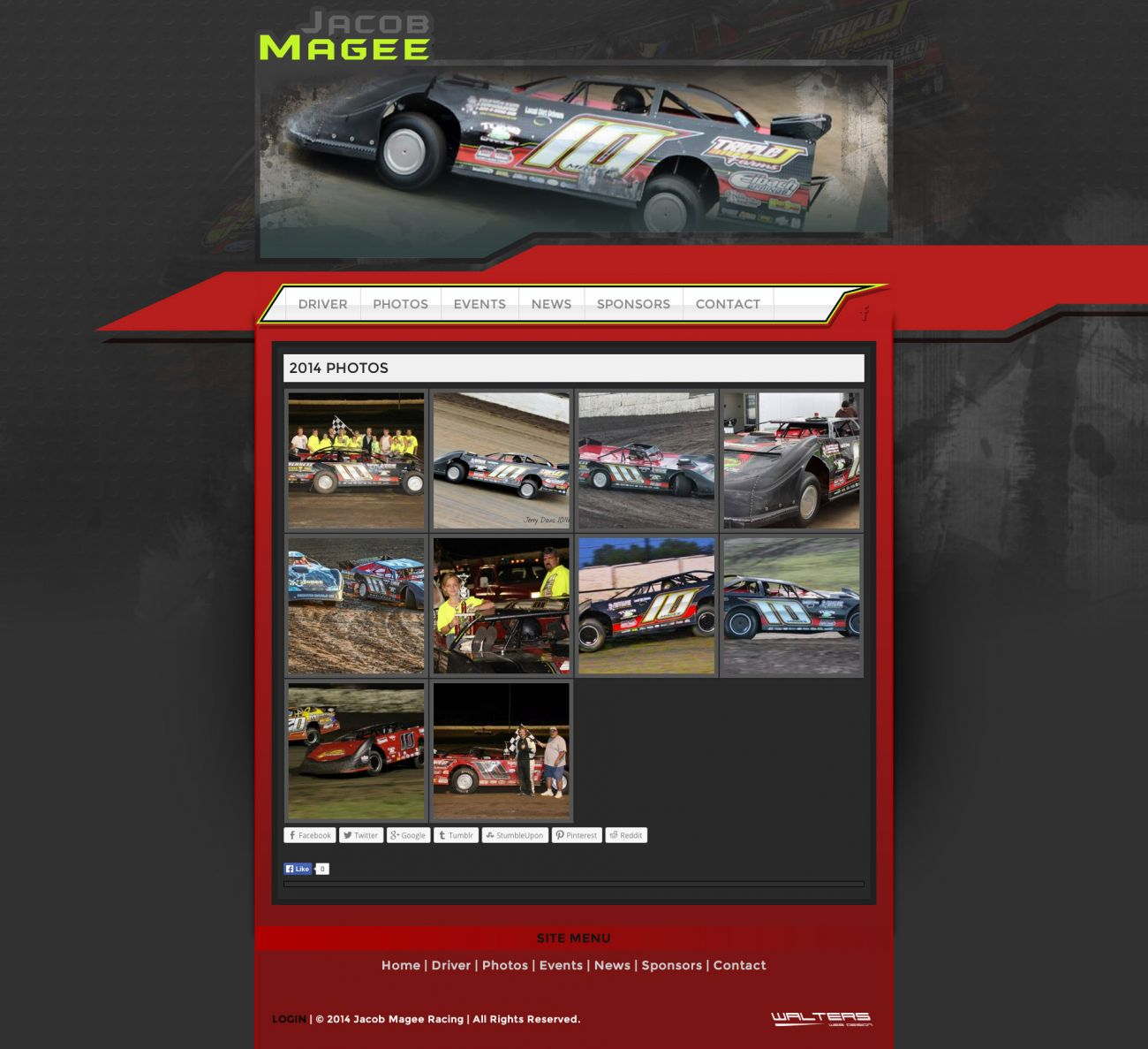 Jacob Magee Dirt Late Model Racing Website Link Announced - Shane ...