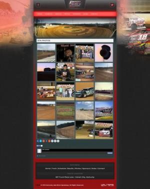 Kentucky Lake Motor Speedway Website Design