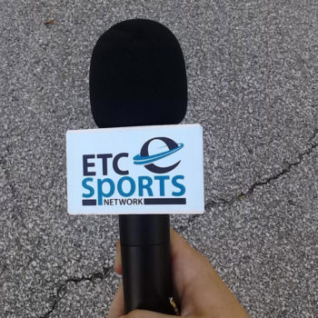 Ryan Kent Jr Sports Broadcaster Website Design - ETC Sports Network