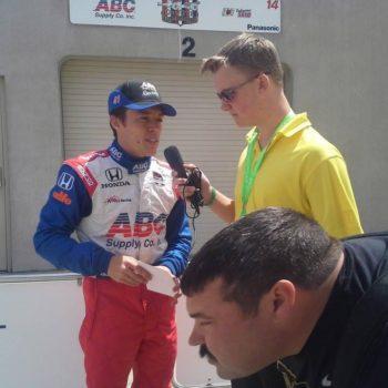 Ryan Kent Jr Sports Broadcaster Website Design - Indycar Broadcaster
