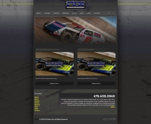 2015 PCD Race Cars Website - Walters Web Design