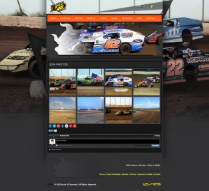 2015 Route 45 Raceway Web Design - Walters Web Design