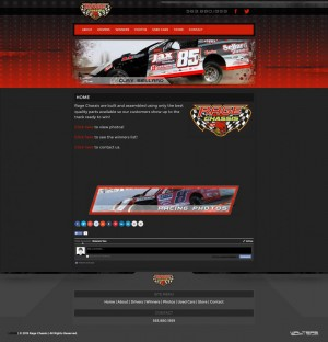 Rage Chassis Builder Website Design - Walters Web Design