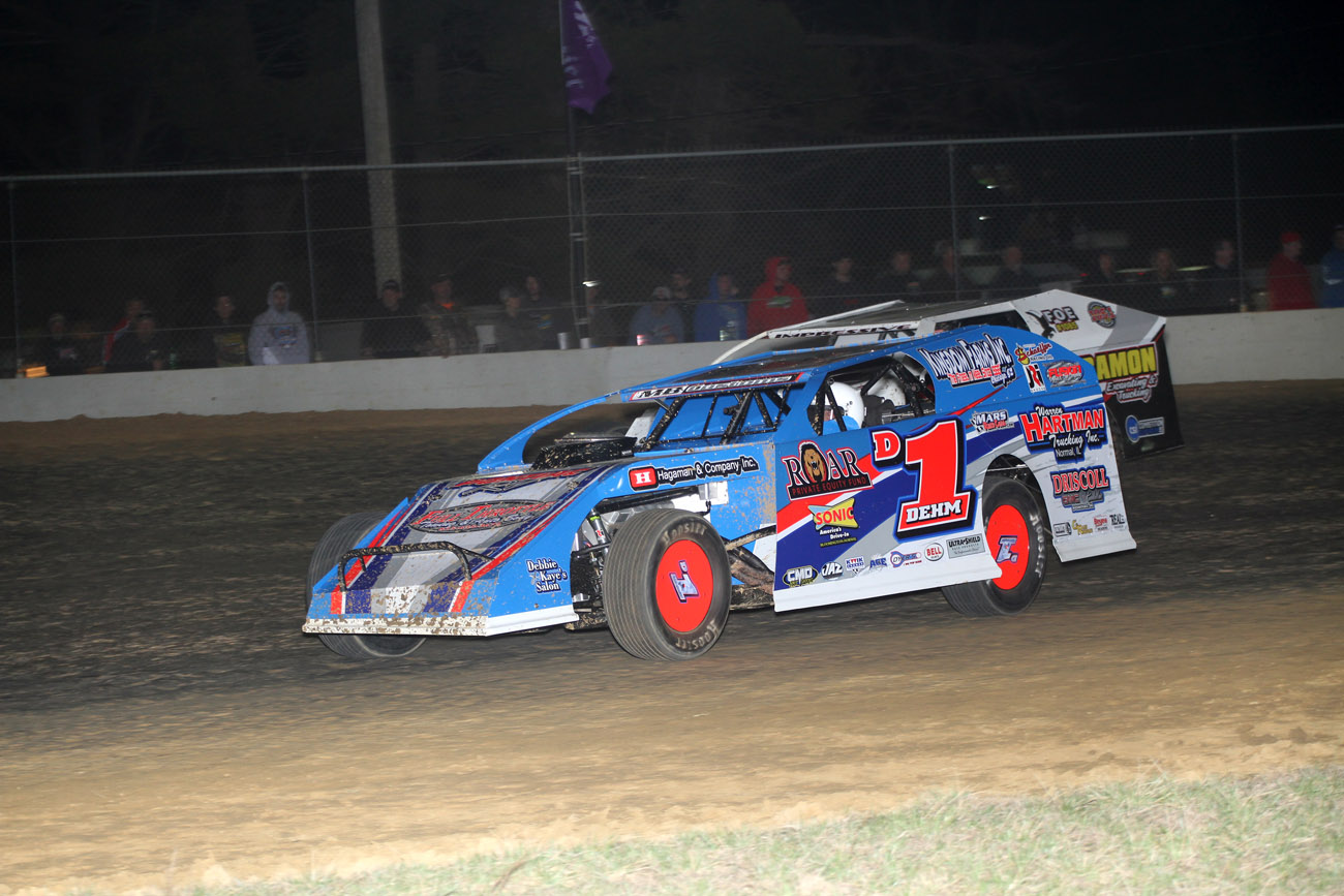 Lance Dehm Racing Dirt Modified Driver Website