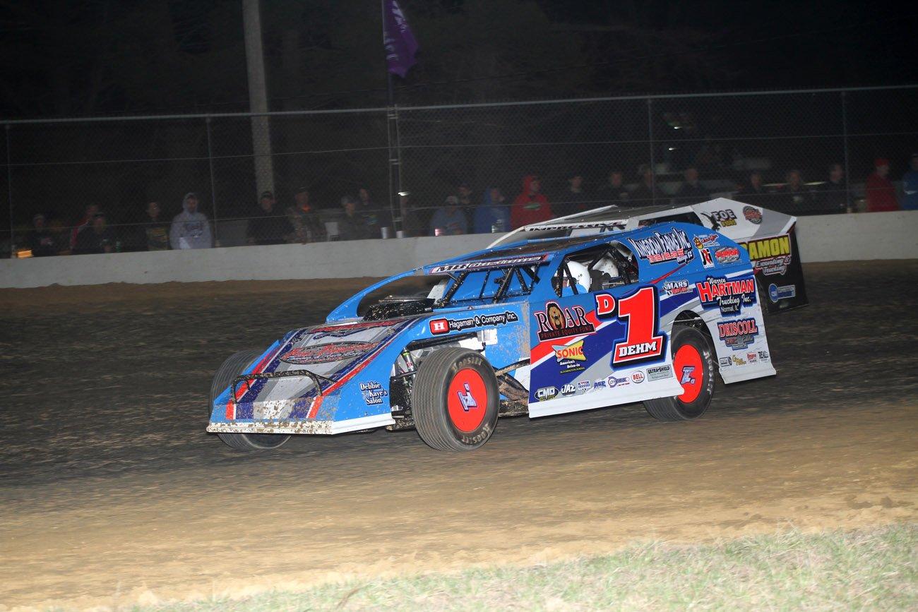 Lance Dehm Dirt Modified Driver Website Design - Walters