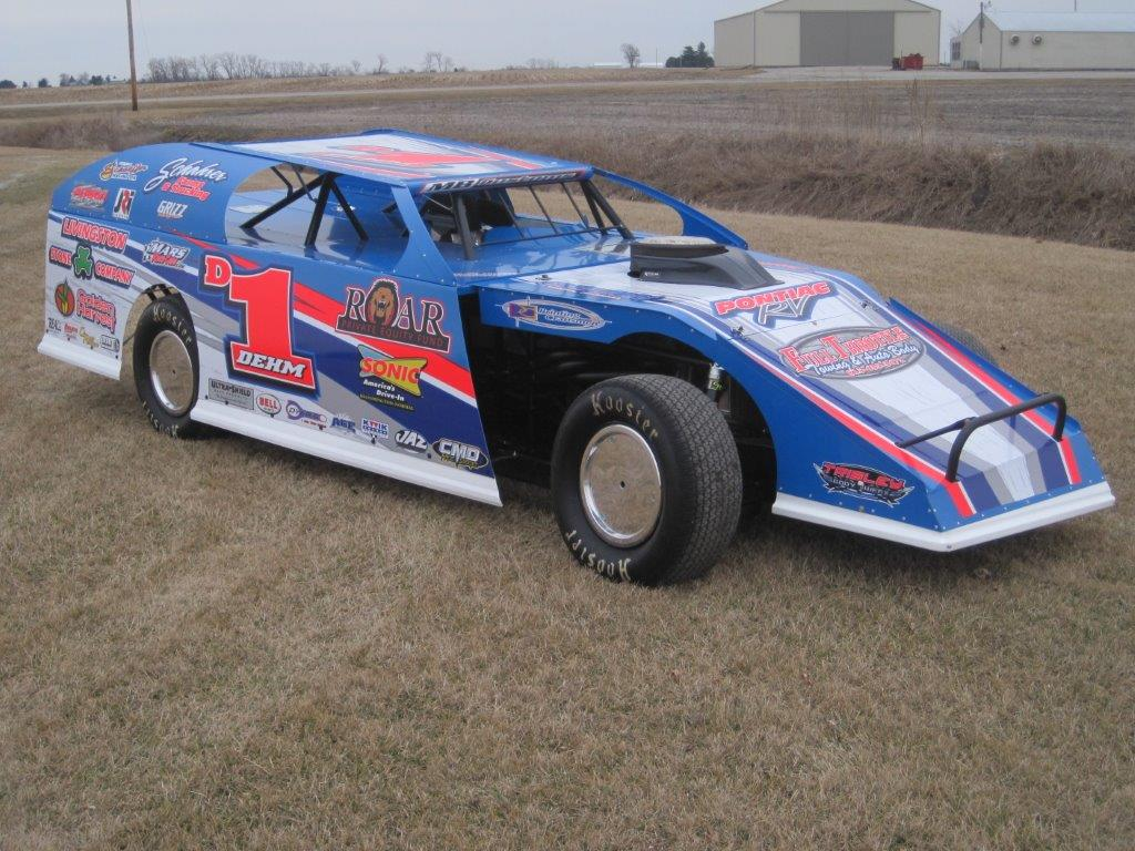 Lance Dehm Dirt Modified Driver Website Design - Walters
