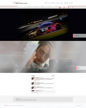 Dion von Moltke Audi IMSA Tudor Sports Car Driver Website Design