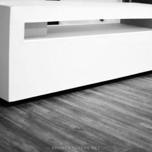 Shane Walters White Modern Lego Table 0088