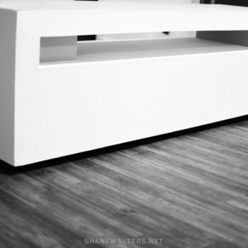 Shane Walters White Modern Lego Table 0088