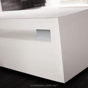 Shane Walters White Super Modern Lego Table 0038