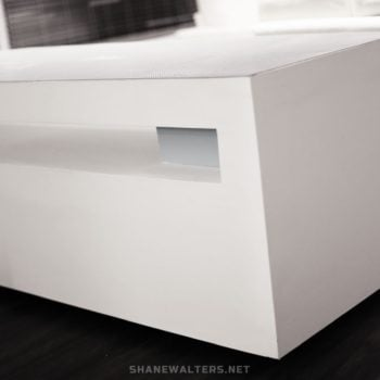 Shane Walters White Super Modern Lego Table 0038