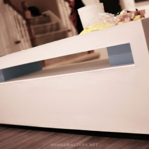 Shane Walters White Ultra Modern Lego Table 0019