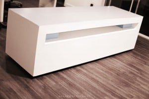 Shane Walters White Ultra Modern Lego Table 0086