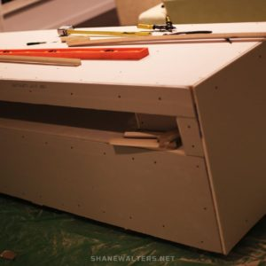 Shane Walters lego Table Build 9934