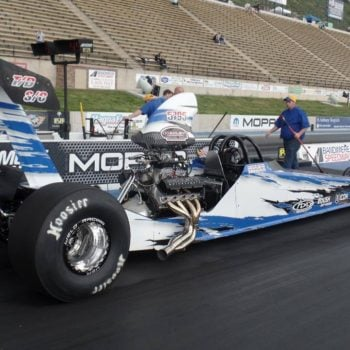 Nicoletti Motorsports Drag Racing Driver Website Design