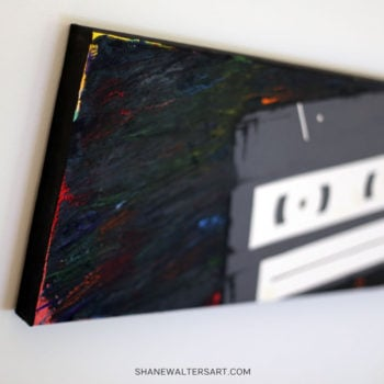 Shane Walters Art Cassette Painting 11 0595
