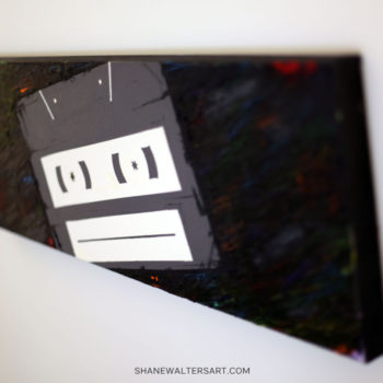 Shane Walters Art Cassette Painting 11 0598