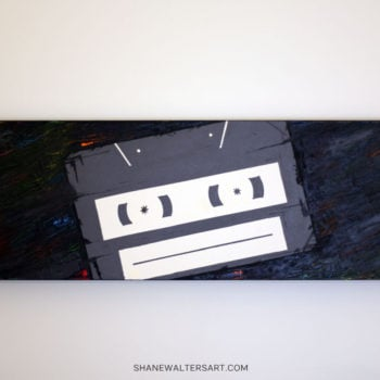 Shane Walters Art Cassette Painting 11 0604