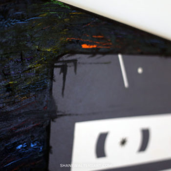 Shane Walters Art Cassette Painting 11 0612