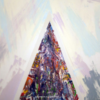 Shane Walters Art Triangle Painting 13 0451