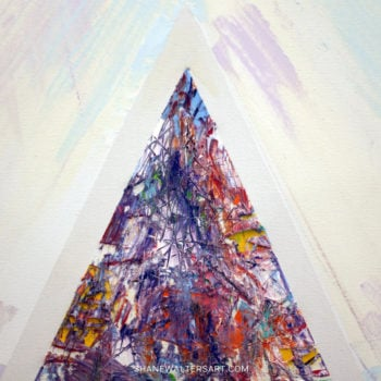 Shane Walters Art Triangle Painting 13 0478