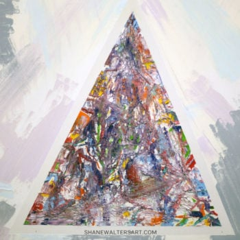 Shane Walters Art Triangle Painting 13 0522