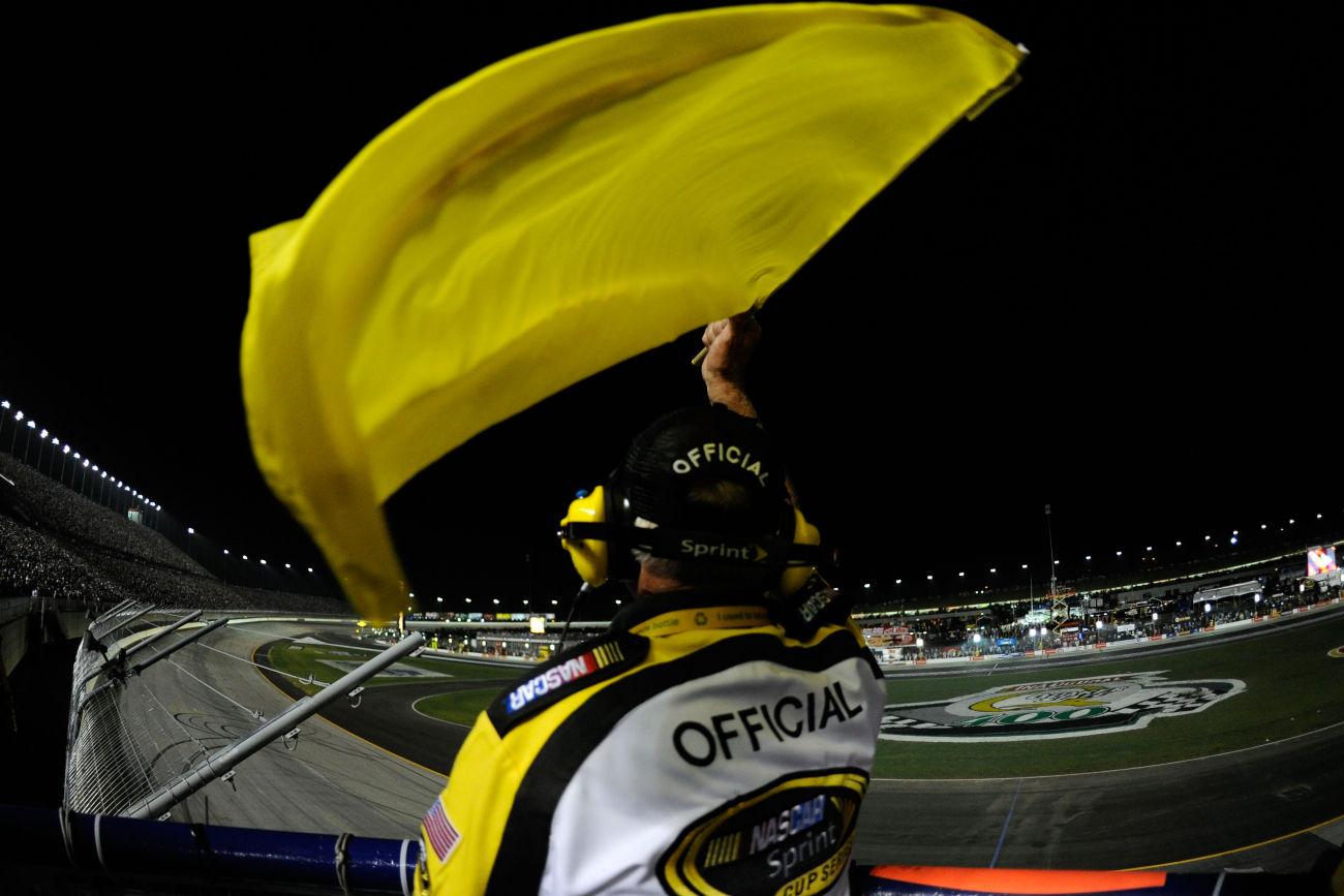 Imaginary NASCAR Debris Cautions Are A Problem