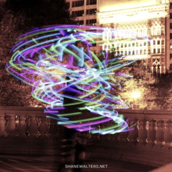 Millennium Park Light Painting 0820