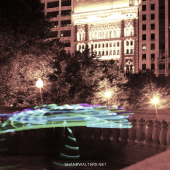 Millennium Park Light Painting 0823