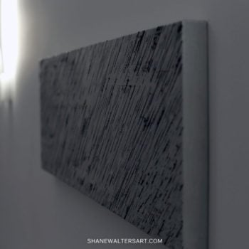 Shane Walters Art Modern Minimalist Greyscale Painting Photo 15 3007