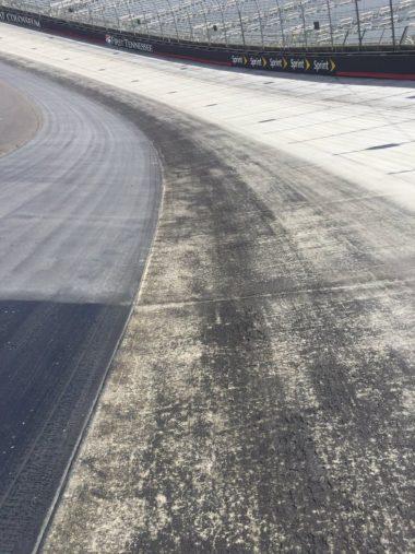Bristol Motor Speedway Low Groove - Track Sealer 2016 2