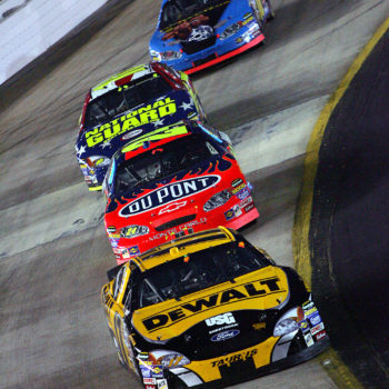 Matt Kenseth Leading Bristol 2005