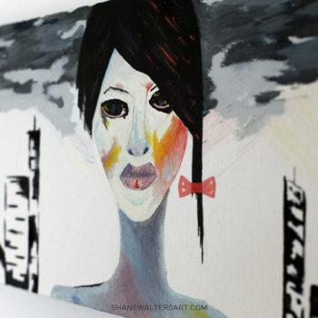 Shane Walters Art Futuristic Human Painting 4201