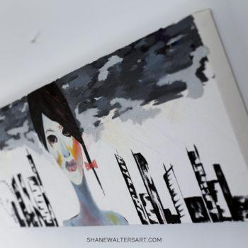 Shane Walters Art Futuristic Human Painting 4215