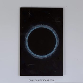 Shane Walters Art Planet Eclipse Painting 4161